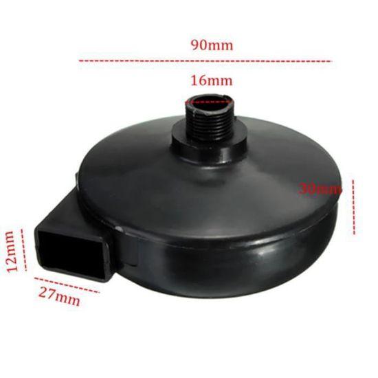 Lot de 2 couvercles Noir 20 mm filtre d/échappement silencieux pour compresseur a Air