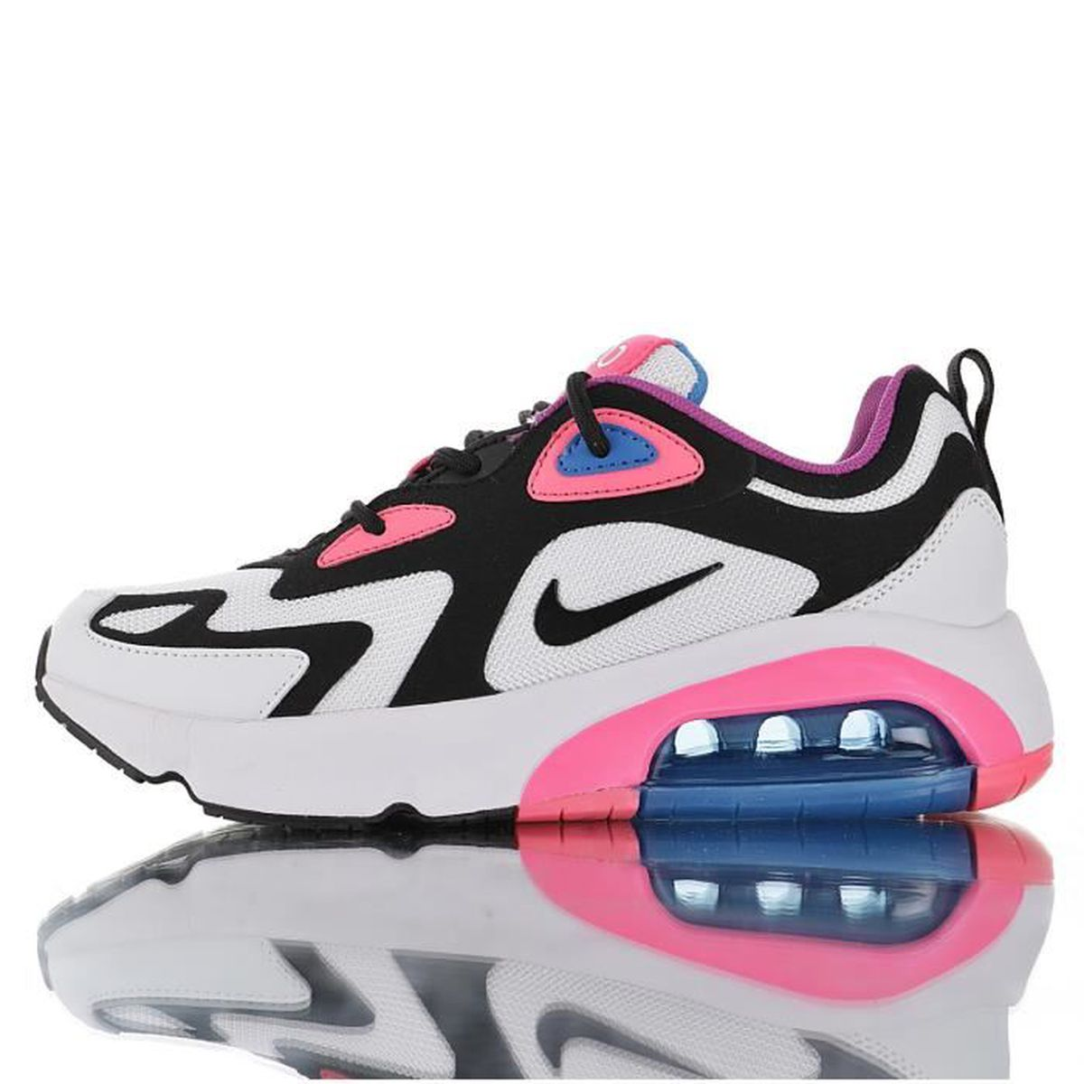 Baskets Nike Air Max 200 Femme Rose Rose Rose - Achat ...
