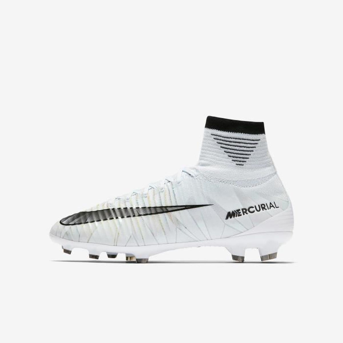 quality design 370f0 86be0 CHAUSSURES DE FOOTBALL Nike Jr. Mercurial Superfly V CR7 Dynamic Fit FG,