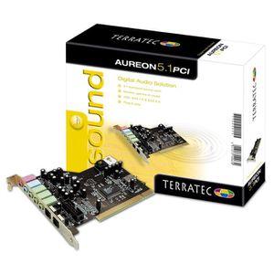 CARTE SON INTERNE TERRATEC Carte son interne 5.1 AUREON 5.1 PCI - PC