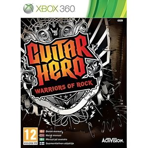 JEUX XBOX 360 GUITAR HERO Warriors of Rock / Jeu console XBox 36