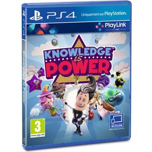 JEU PS4 Knowledge is Power Jeu PS4-PlayLink