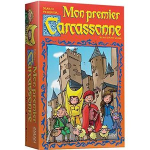 JEU SOCIÉTÉ - PLATEAU Asmodée - CARC02N - Mon Premier Carcassonne - Jeu