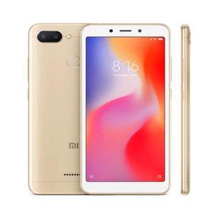 SMARTPHONE Xiaomi redmi 6 64GB ROM 4 Go de RAM double caméra