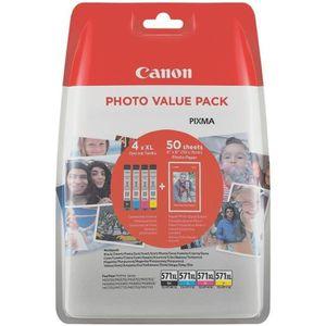CARTOUCHE IMPRIMANTE CANON Pack 4 Cartouches CLI-551 BK/C/M/Y - 4 coule