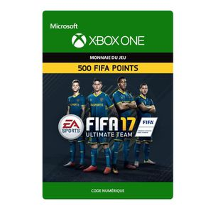 EXTENSION - CODE FIFA 17 Ultimate Team: 500 Points pour Xbox One
