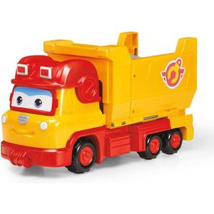 FIGURINE - PERSONNAGE Playset Super Wings Camion de chantier Donnie's Bu