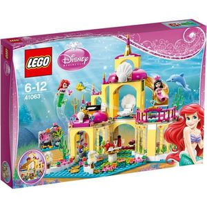 ASSEMBLAGE CONSTRUCTION LEGO® Disney Princess 41063 Royaume d'Ariel