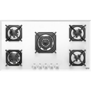 PLAQUE GAZ LOFRA HGB9E0 Mars 90 table de cuisson  blanc 90CM