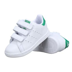 BASKET Basket enfant Adidas Stan Smith Cf I Bz0520 Bla...
