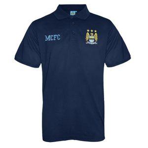 MAILLOT DE FOOTBALL Manchester City FC officiel - Polo thème football