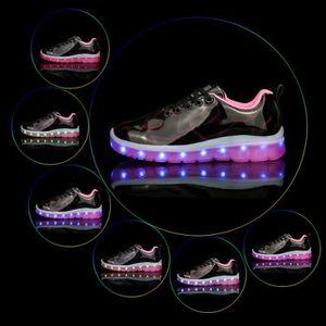 BASKET Enfant Baskets LED Allumée Espadrilles Chaussures