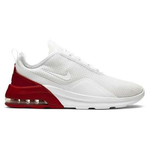 ff5c8a58b535 CHAUSSURES DE FOOTBALL NIKE NEWS AIR MAX MOTION 2 BLANC/ROUGE ADULTE 2019