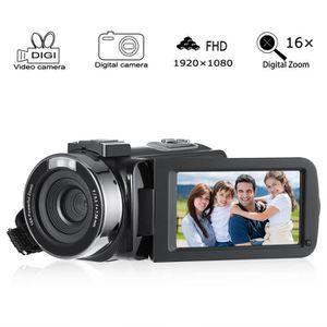 CAMÉSCOPE NUMÉRIQUE Caméscope numérique full HD 1080P 16x zoom caméra