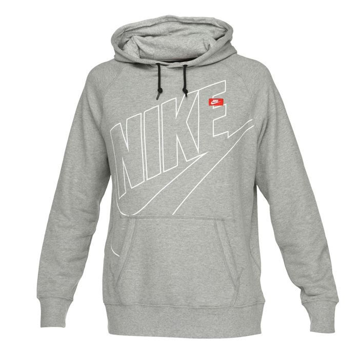 nike sweat capuche homme gris achat vente sweatshirt nike sweat capuche homme cdiscount. Black Bedroom Furniture Sets. Home Design Ideas