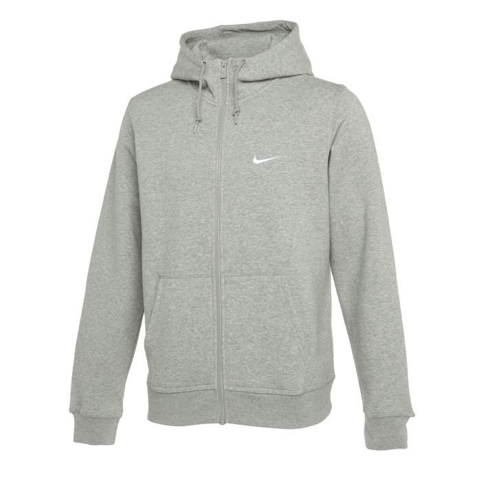 nike sweat zipp club homme gris achat vente. Black Bedroom Furniture Sets. Home Design Ideas