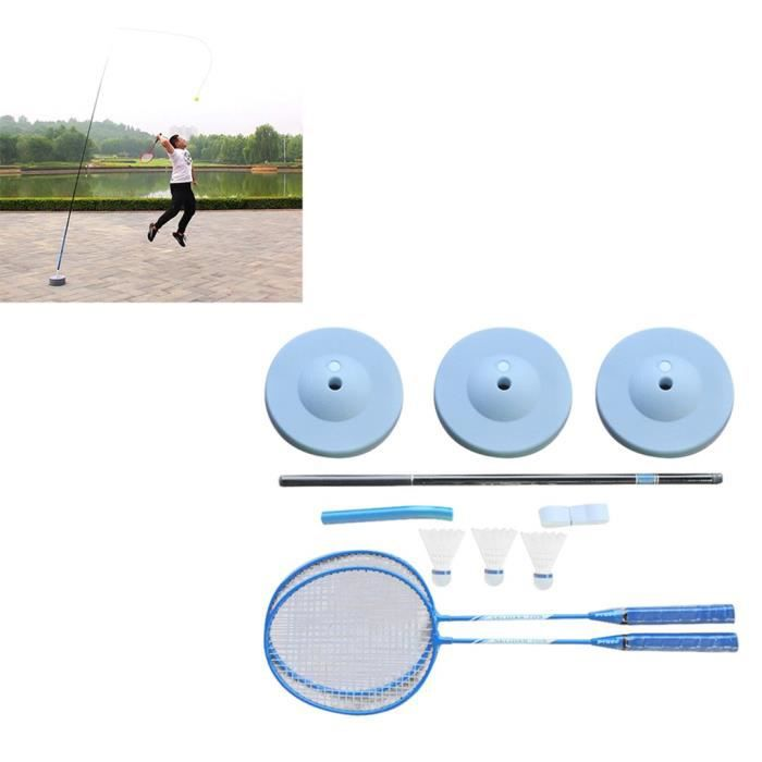 Entraîneur de Badminton Double Entrainement Entrainement Auto-tourbillonnant @aihi713