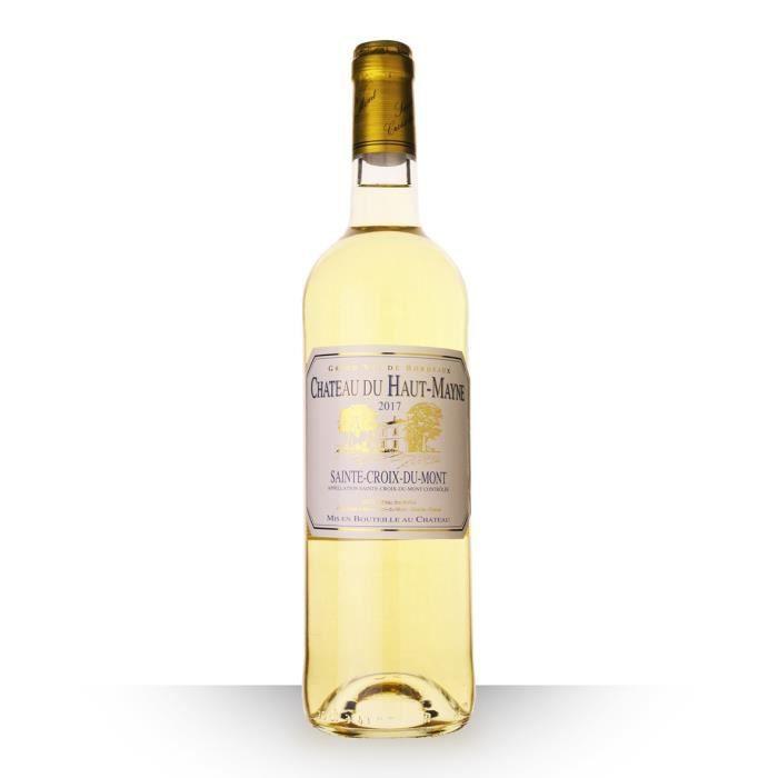 Château du Haut-Mayne 2017 AOC Sainte-Croix-du-Mont - 75cl - Vin Blanc