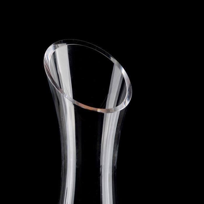 Carafe à Décanter, 1.2L Carafe à Vin Verre Décanter Carafe Pour Vin Décanteur Verre Cristal Décanter, Accessoires Vin Rouge, Cadeau