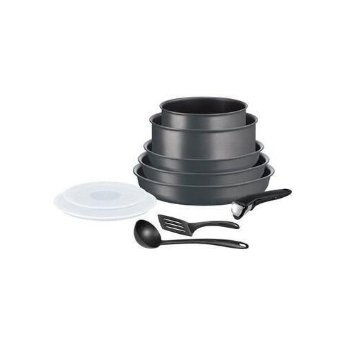 Tefal INGENIO PERFORMANCE Gris Coal Batterie de cuisine 10 pi?s - 3168430295063