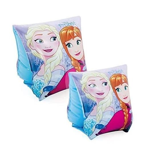 Brassards de natation piscine Reine des Neiges : Anna & Elsa - Fille 3-6 ans / 18-30 kg - Disney Frozen
