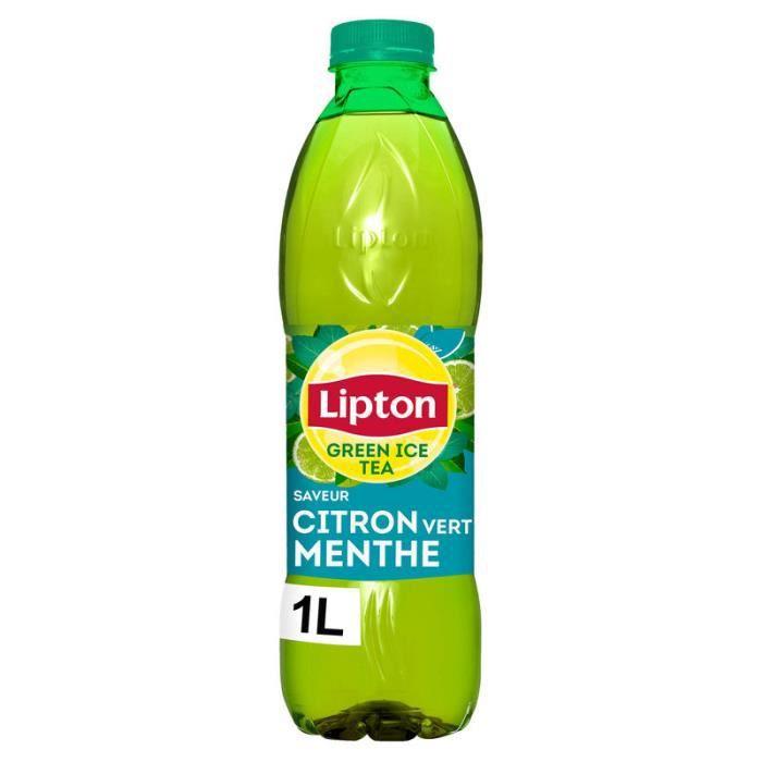 Thé vert glacé 1l LIPTON