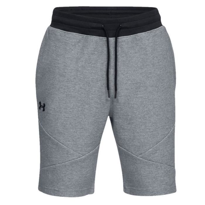 Short gris homme Under Armour Unstoppable