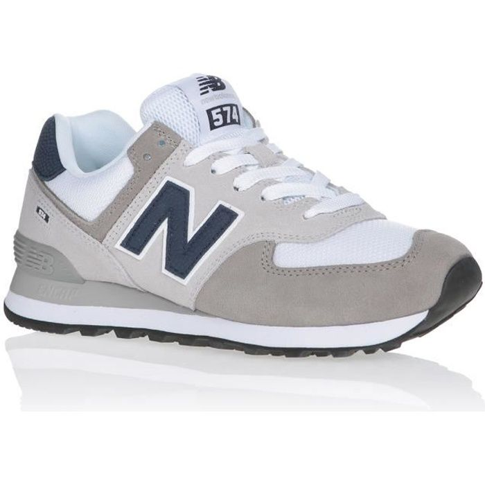 NEW BALANCE Baskets ML574EAG Gris/Blanc Mixte