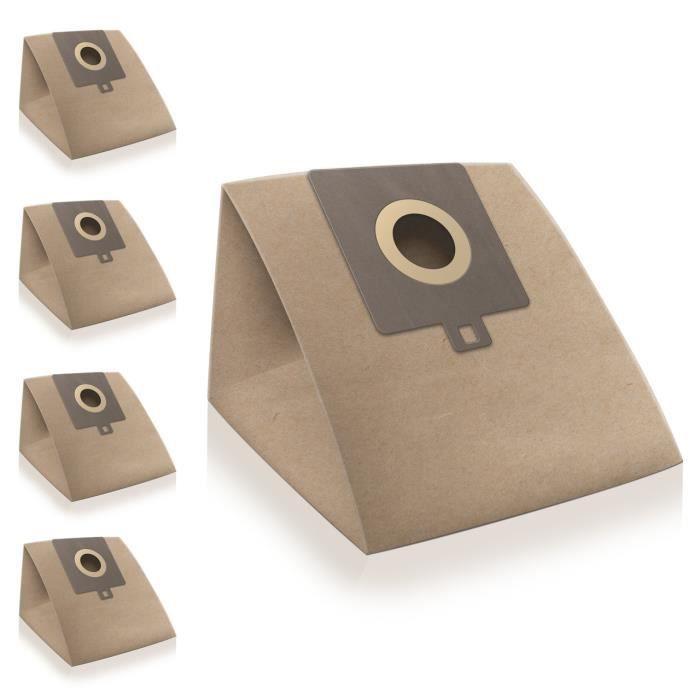 Sacs d'aspirateur pour Hoover Freespace TFS5198 (5 pièces, papier)