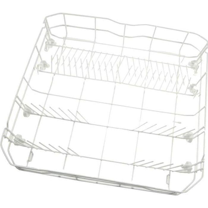 Panier de lave vaisselle inférieur blanc - Lave-vaisselle - PROLINE, TECNOLEC, CONTINENTAL EDISON, CURTISS, URANIA (18733)