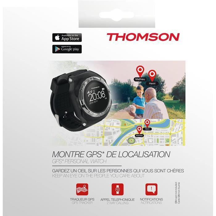 Montre GPS Thomson Noire