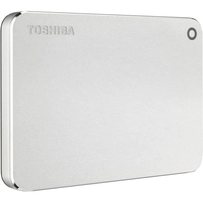 TOSHIBA - Disque dur Externe - Canvio Premium - 2To - USB 3.0 - Silver (HDTW220ES3AA)