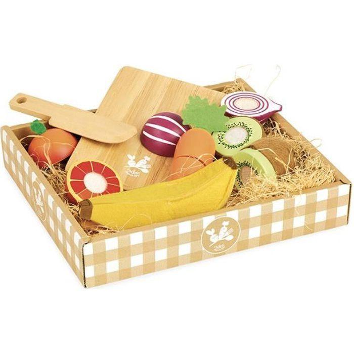 VILAC - Jour de marché Fruits et légumes à découper
