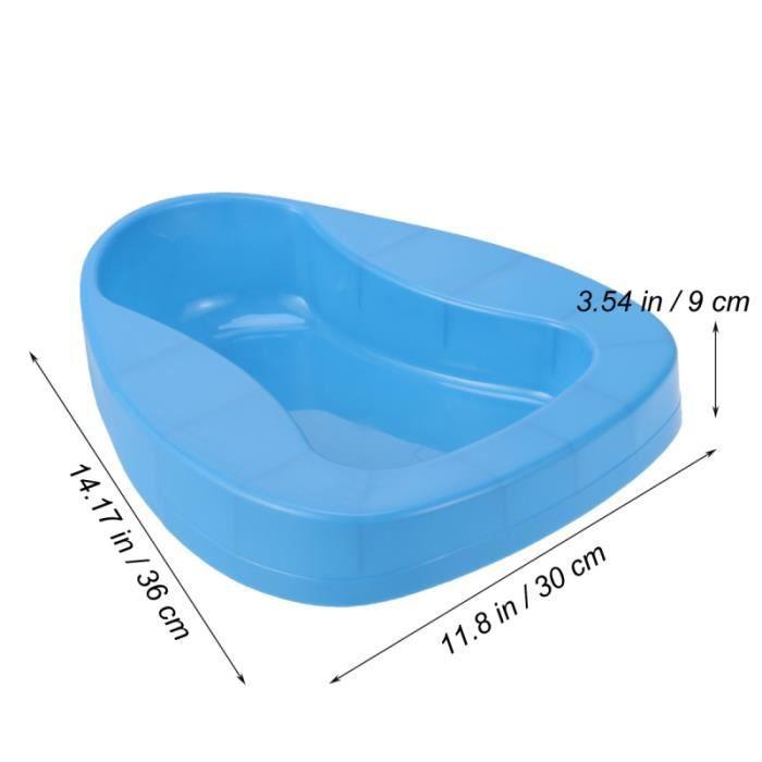 1 pc bassin de lit réutilisable épaissi Anti-éclaboussures Durable pan cuvette de toilette BASSIN DE LIT - URINAL - CHAISE PERCEE