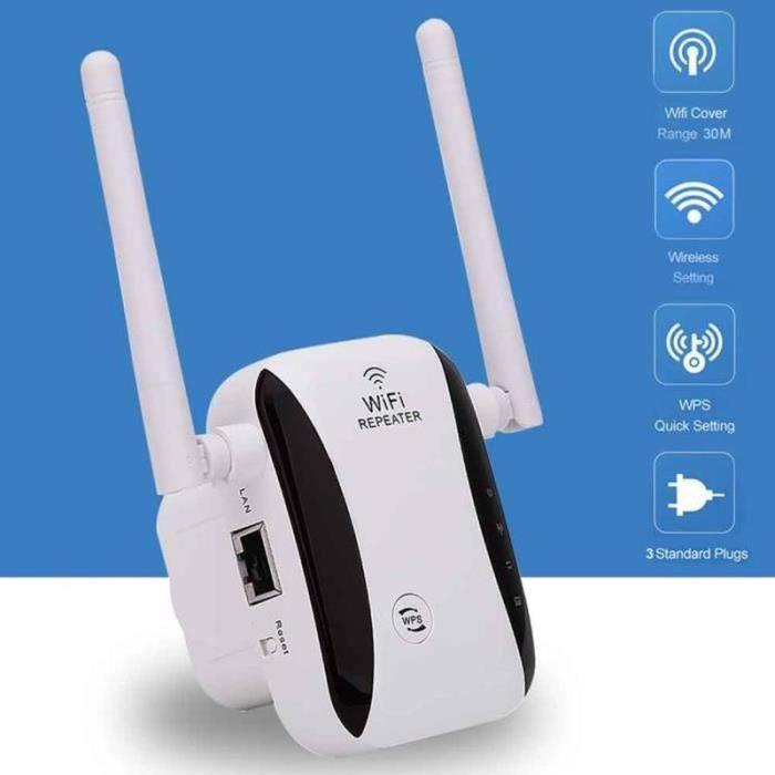 GM08165-300 Mbps 2.4G amplificateur de Signal répéteur sans fil routeur WiFi Booster Home Range Extender Portable haute vitesse
