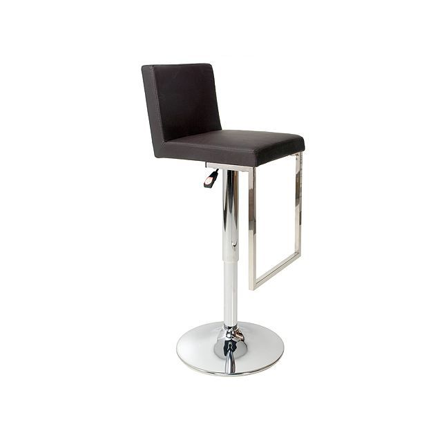 tabouret de bar moderne chocolat kilian achat vente tabouret de bar cdiscount. Black Bedroom Furniture Sets. Home Design Ideas