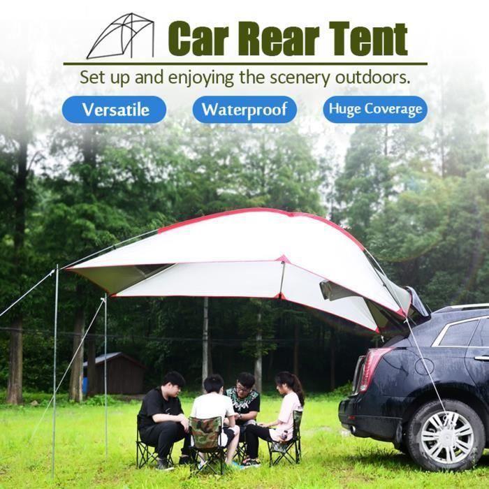 Bleu Vige 3-4 Personnes Famille Tente de Camping Tente Portable abri Tente imperm/éable /à leau avec Sac de Transport pour Pique-Nique randonn/ée p/êche Utilisation ext/érieure