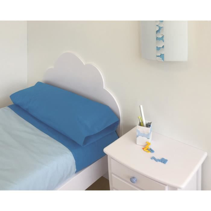t te de lit enfant nuage 105 achat vente t te de lit cdiscount. Black Bedroom Furniture Sets. Home Design Ideas
