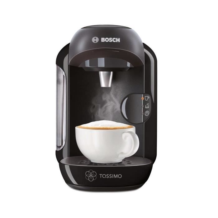bosch tassimo vivy tas1252 noir achat vente machine caf cdiscount. Black Bedroom Furniture Sets. Home Design Ideas