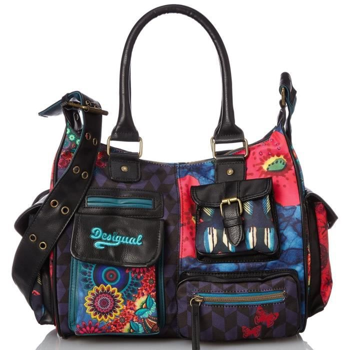 desigual sac london medium lakey 57x51n9 achat vente desigual sac london medium cdiscount. Black Bedroom Furniture Sets. Home Design Ideas