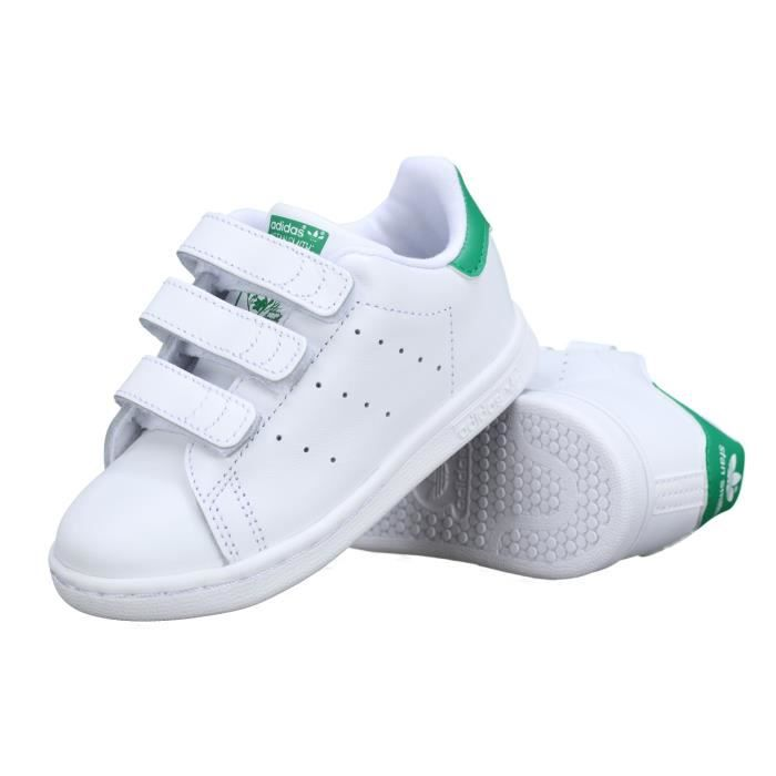 Basket enfant Adidas Stan Smith Cf I Bz0520 Bla...