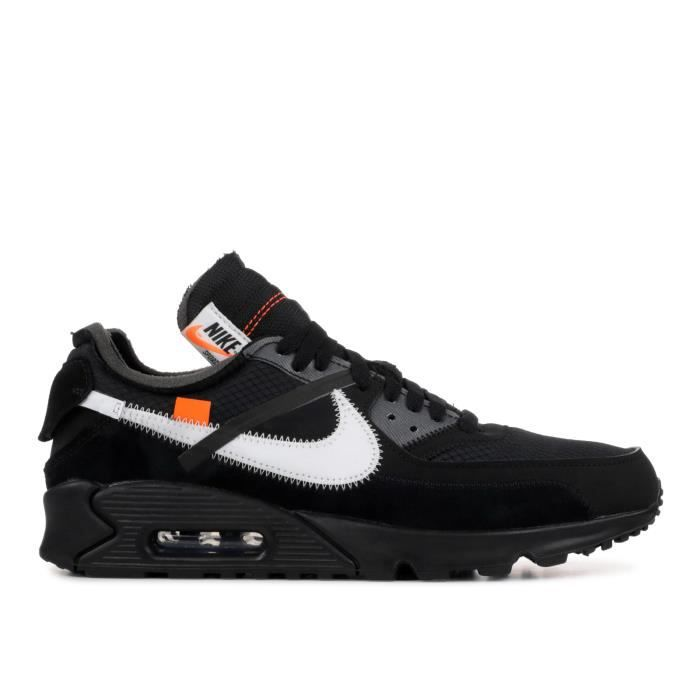 air max 90 homme orange et noir