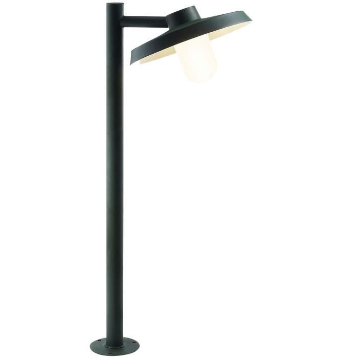 lampadaire ext rieur led luminaire jardin acier galvanis terrasse clairage nordlux achat. Black Bedroom Furniture Sets. Home Design Ideas