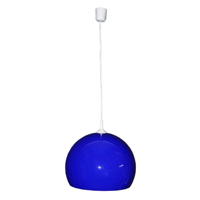 plafonnier luminaire plafond suspension coloris bleu. Black Bedroom Furniture Sets. Home Design Ideas