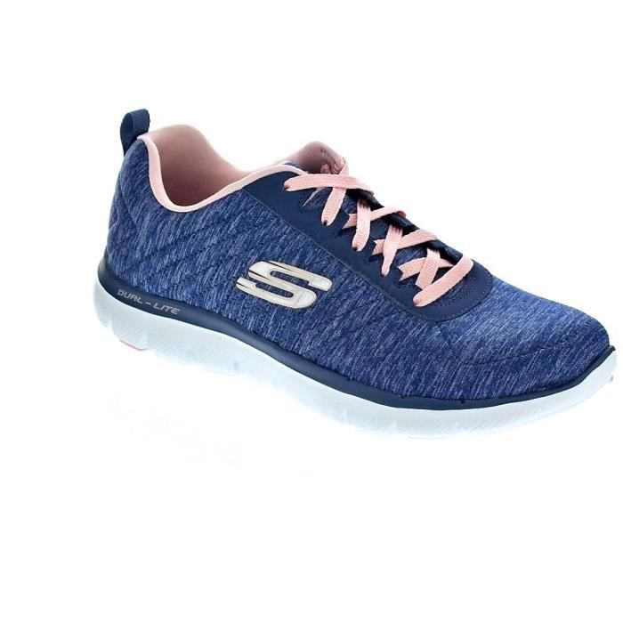 Baskets basses - Skechers Flex Appeal 2.0FemmeBleu 36