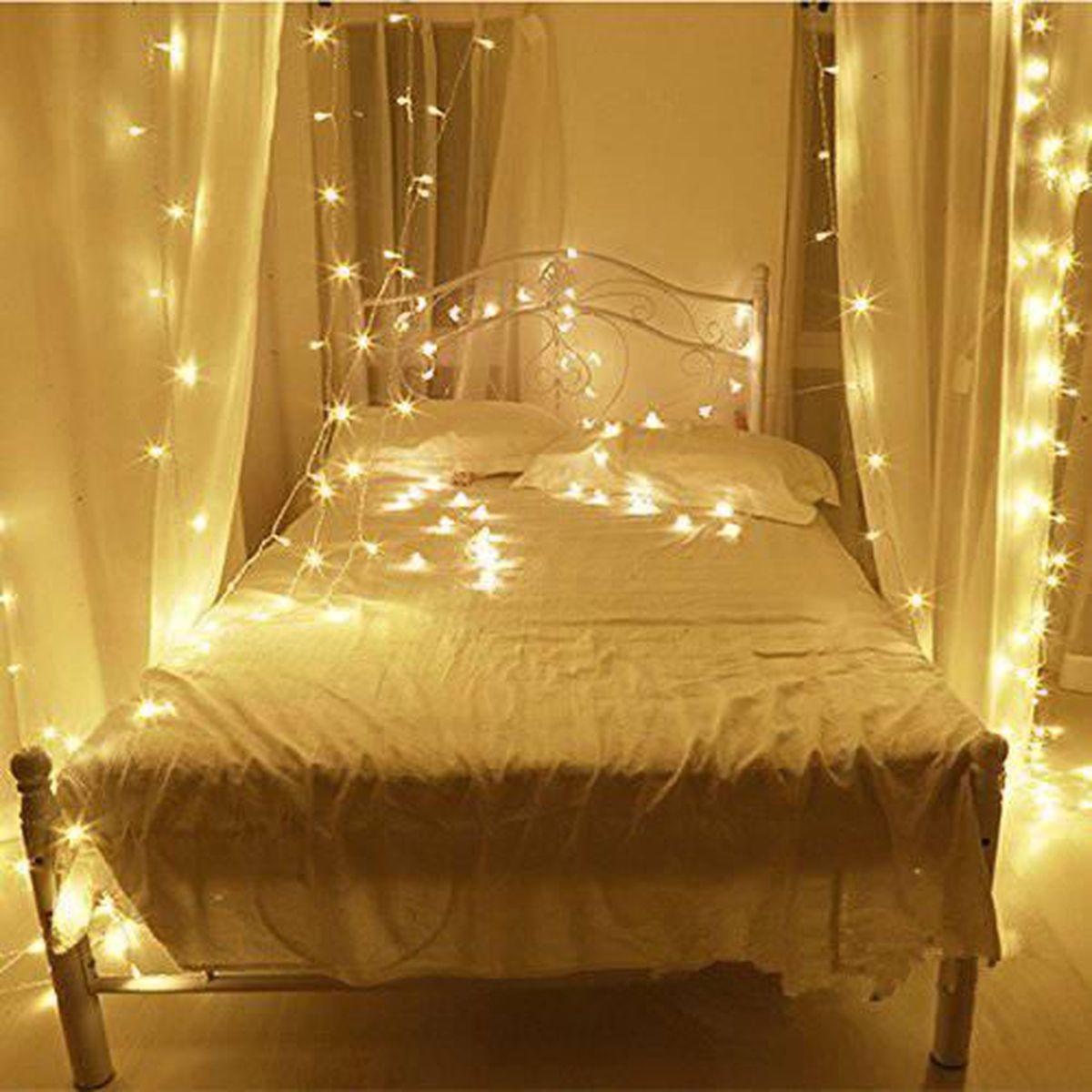 Comment Accrocher Une Guirlande Lumineuse Au Mur guirlande pour lit