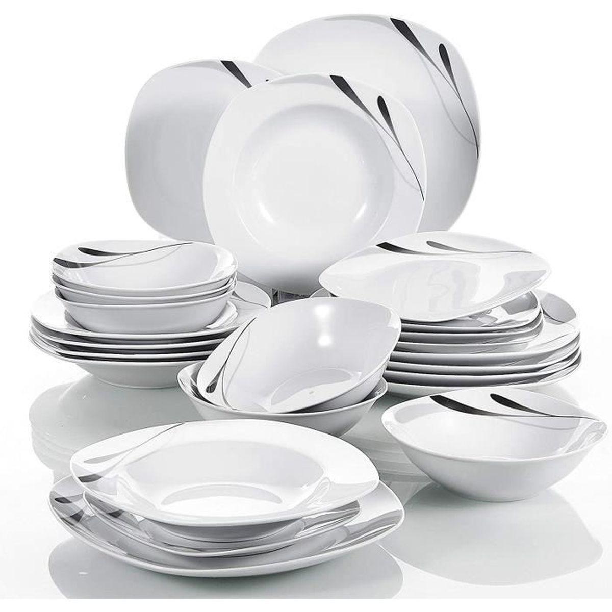 Service de vaisselle et fourchette /à fruits et couverts /à dessert CRIVERS avec base de cygne d/écorative Lot de 2 Or 3 fourchettes et 3 cuill/ères