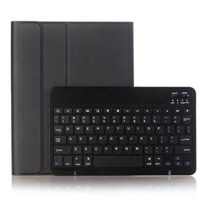 CLAVIER POUR TABLETTE Clavier Bluetooth et Étui en Cuir de Tablette Ultr