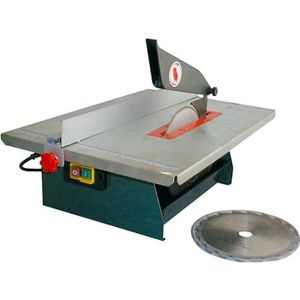 SCIE ÉLECTRIQUE Combiné scie à table / coupe-carreaux 720 W 40106