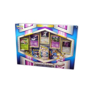 CARTE A COLLECTIONNER Grand coffret pokemon - magearna : mythical - cart